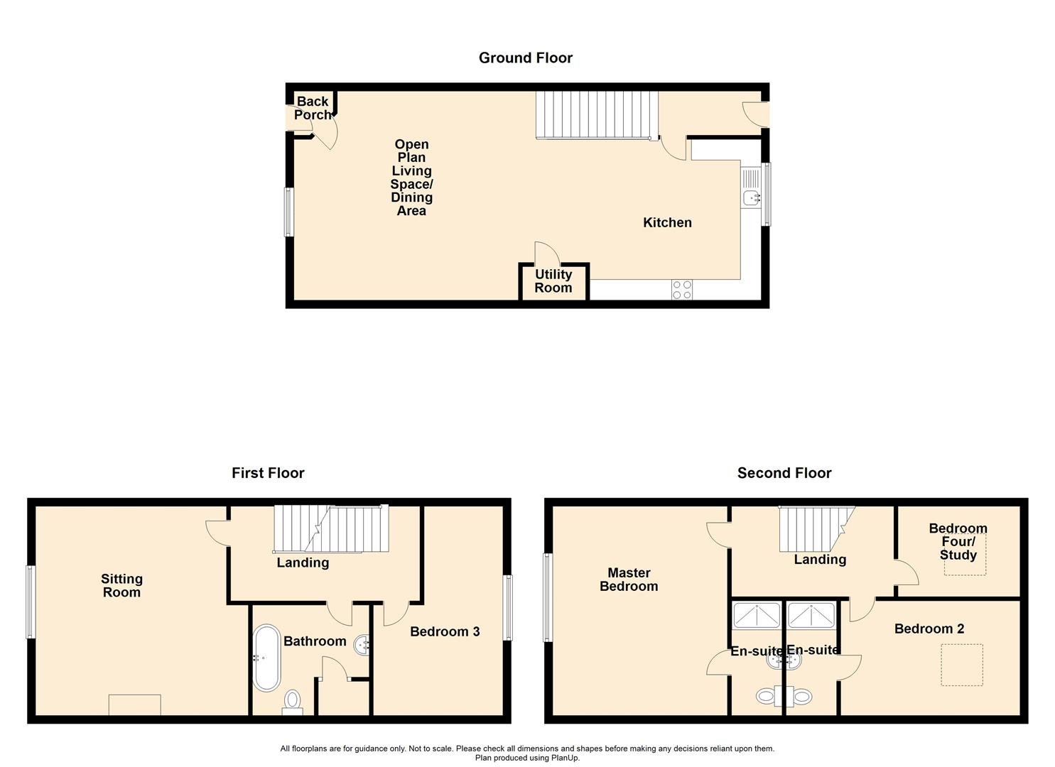 4 Bedroom Townhouse House For Sale - 24 Chaigley Court, Chaigley.jpg
